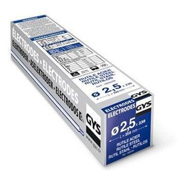 Lot de 230 électrodes rutile diamètre 2.5mm GYS 085039