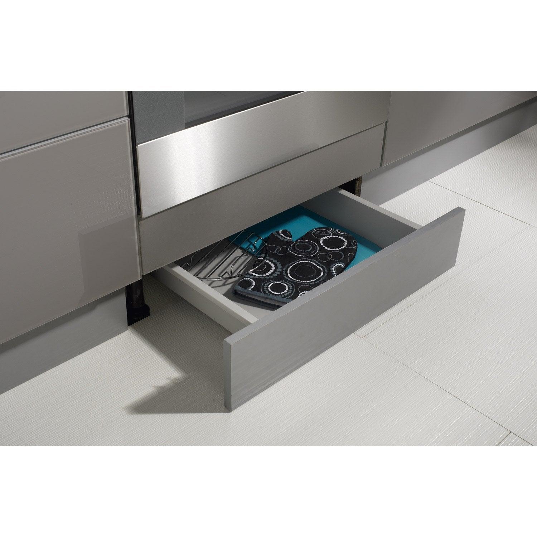 tiroir sous-four pour meuble l.60 cm, delinia | leroy merlin