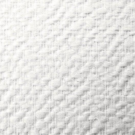 Fibre de verre lanivit motif cr pi 160g m2 1x25 m for Type de revetement mural