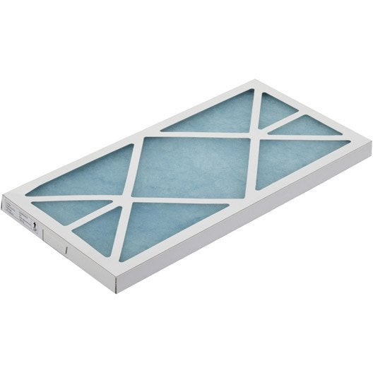 filtre d 39 extraction pour vmc pvc laine de verre s p leroy merlin. Black Bedroom Furniture Sets. Home Design Ideas