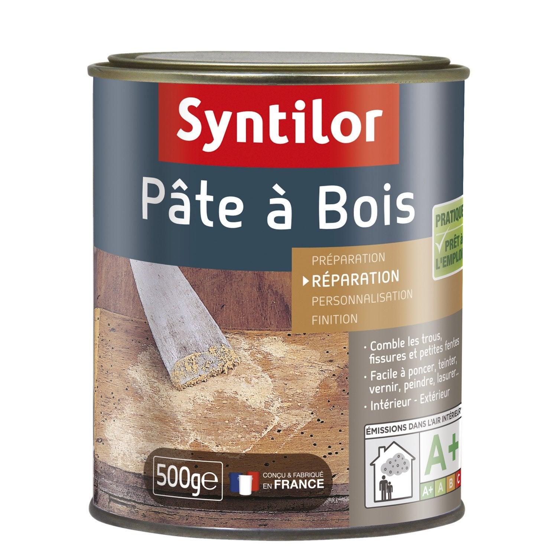 pte bois syntilor chne moyen g with peindre sur lasure bois