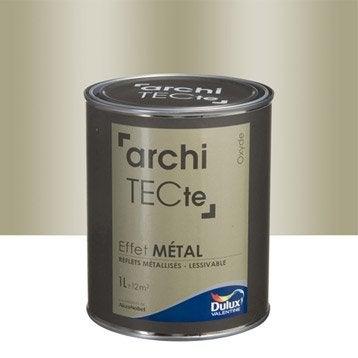Peinture effet m tallis peinture effet leroy merlin for Peinture gris metal