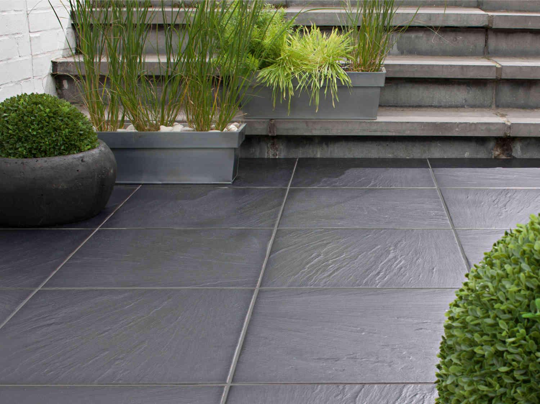 Tout Savoir Sur Le Carrelage De Sol Extérieur Leroy Merlin - Carrelage terrasse et tapis pied du lit