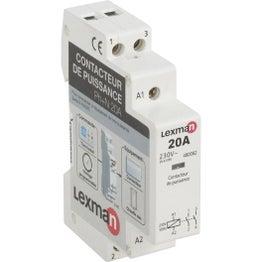 Contacteur LEXMAN, 230 V, 20 A