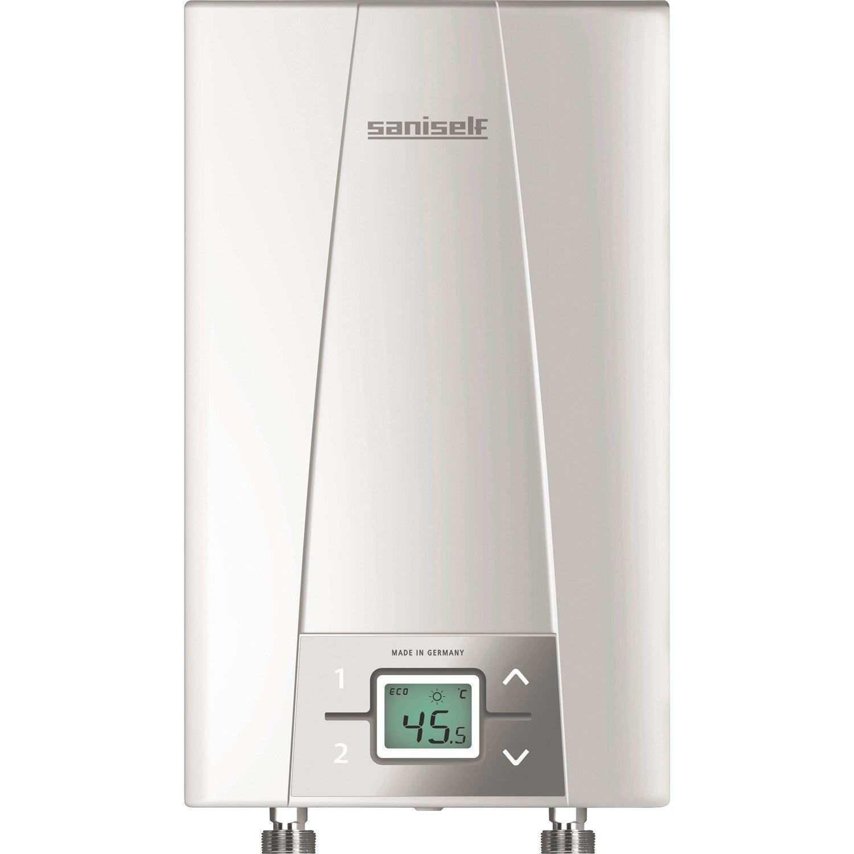 chauffe-eau instantané électrique multipoint d'eau cex9 saniself ... - Robinet Eau Bouillante Instantanee
