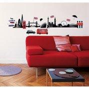 Sticker London skyline 49 cm x 69 cm