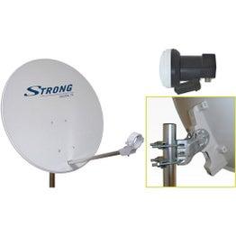 Antenne satellite parabolique acier 63 cm, STRONG
