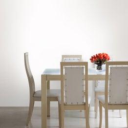 Papier peint intissé Textile nacré blanc
