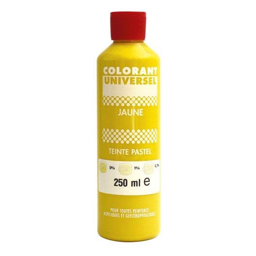 Colorant pigment pour peinture au meilleur prix leroy for Colorant pour peinture facade