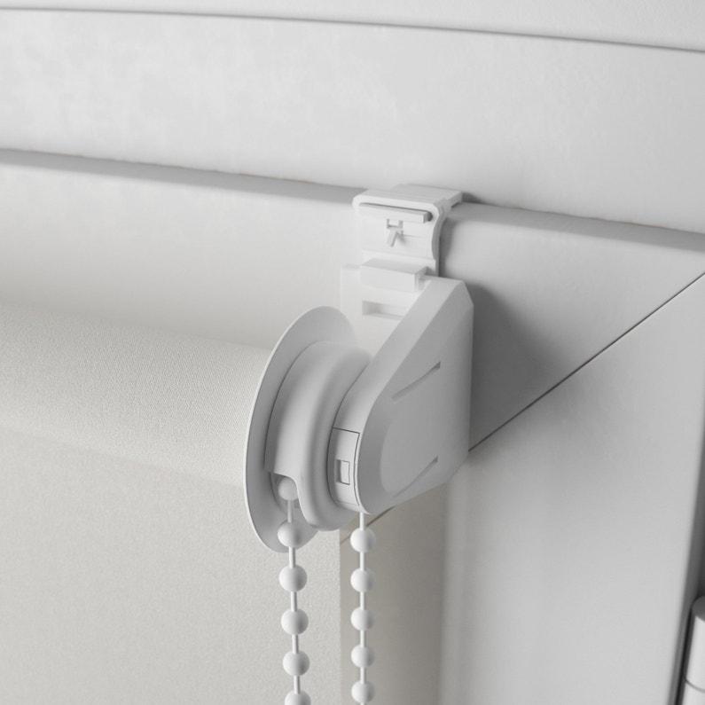 Store Enrouleur Occultant Blanc L60 X 190 Cm