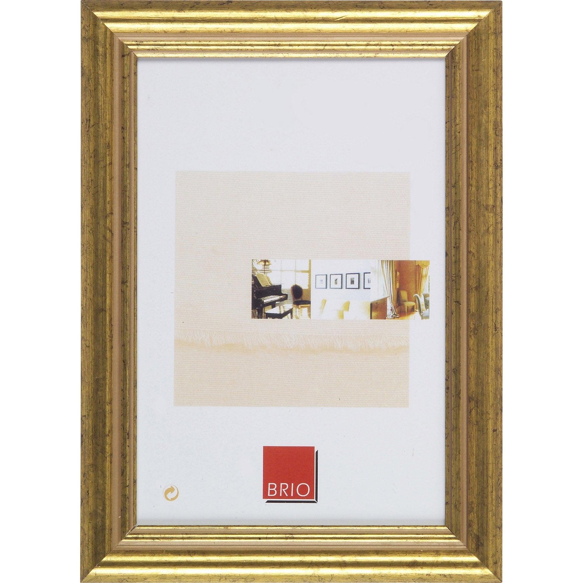 Cadre Circée, 10 x 15 cm, dorée