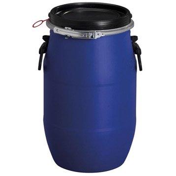 Fût de macération aérien GARANTIA cylindrique bleu , 30 l