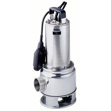 Pompe vide-cave eau chargée FLOTEC Biox 300/10a 21000 l/h