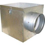 Caisson filtrant et isolé pour groupe d'air chaud DMO, diamètre 150 mm