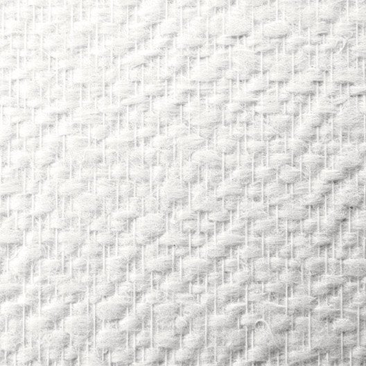 fibre de verre pr peinte et pr encoll e lanivit motif cr pi 200g m2 1x25m leroy merlin. Black Bedroom Furniture Sets. Home Design Ideas