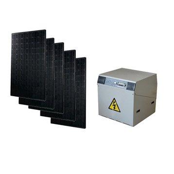 Kit solaire complet Power WATT&HOME 925W, onduleur 2000W, batterie 600Ah
