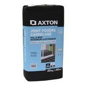 Joint poudre tout type de carrelage et mosaïque AXTON, gris, 20 kg
