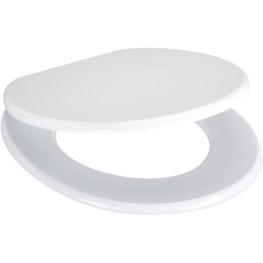 abattant wc sensea blanka blanc leroy merlin. Black Bedroom Furniture Sets. Home Design Ideas