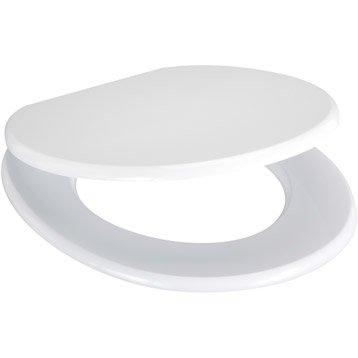 abattant wc sensea blanka blanc. Black Bedroom Furniture Sets. Home Design Ideas
