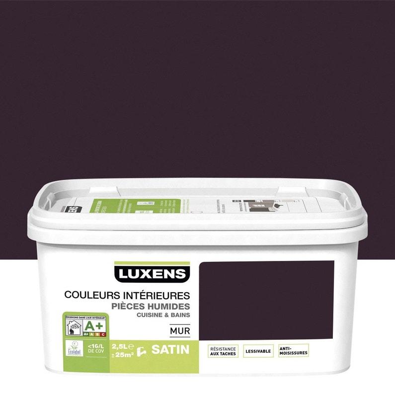 Peinture Couleurs Intérieures Luxens Violet Aubergine 1 2 5 L