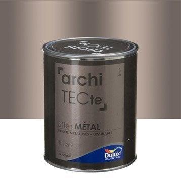 Peinture à effet, Architecte effet métal DULUX VALENTINE, beige irisé, 1 l