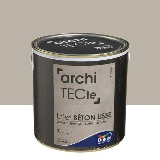 peinture effet b ton peinture effet au meilleur prix leroy merlin. Black Bedroom Furniture Sets. Home Design Ideas