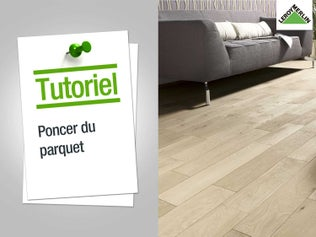 Comment poncer un parquet for Poncer carreaux ciment