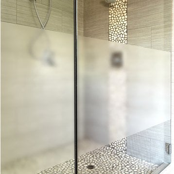 Panneaux muraux d coratifs et stickers douche leroy merlin - Autocollant pour baignoire ...