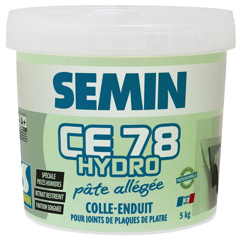 enduit pour joint de plaque de pl tre hydro pr t l 39 emploi ce 78hydro semin 5kg leroy merlin. Black Bedroom Furniture Sets. Home Design Ideas