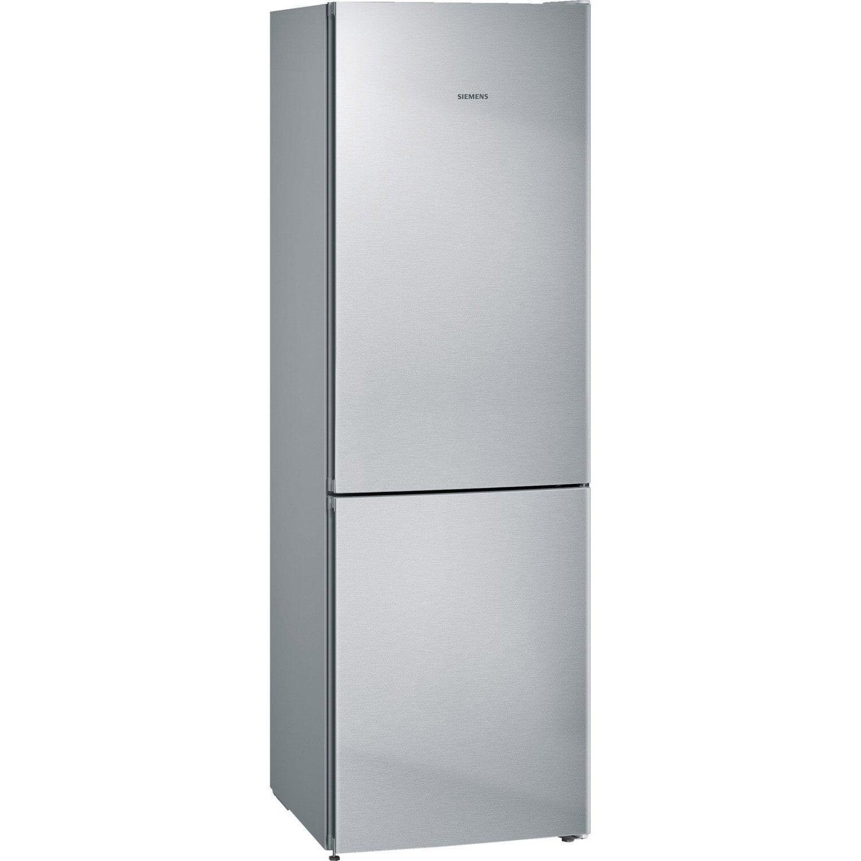 réfrigérateur à poser siemens kg36nvi35 inox   leroy merlin