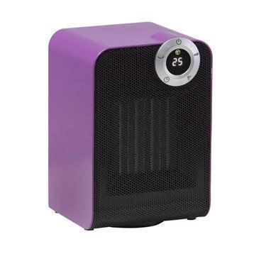 Soufflant céramique salle de bain mobile électrique EQUATION Class violet 1800 W