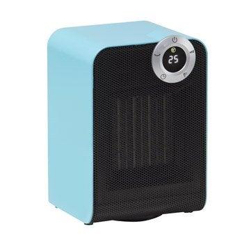 Soufflant céramique salle de bain mobile électrique EQUATION Class bleu 1800 W