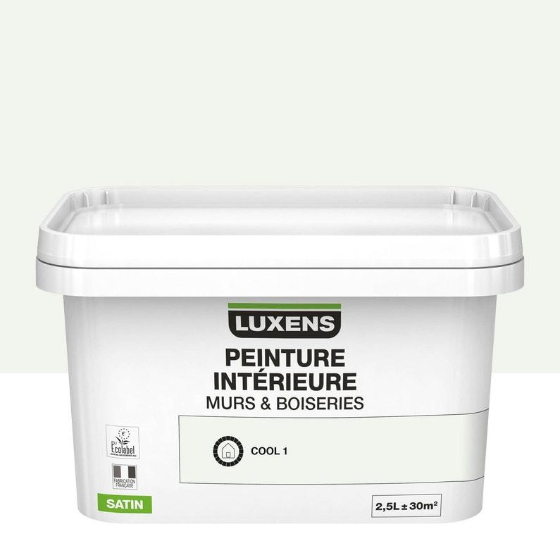 Peinture Mur Intérieur Murs Et Boiseries Luxens Cream 3 Satin 2 5 L