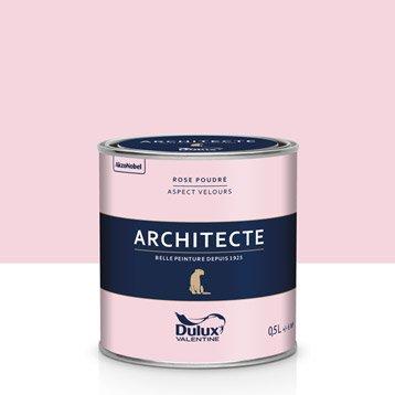 Peinture murale couleur peinture acrylique au meilleur prix leroy merlin - Peinture rose poudre ...