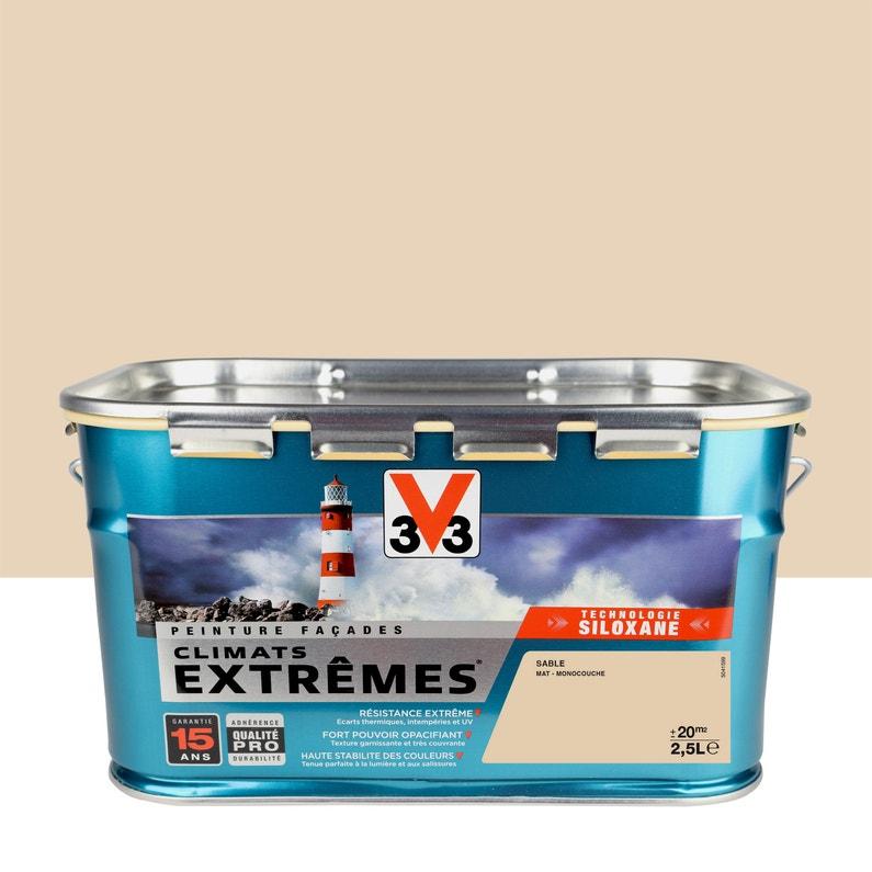 Peinture Façade Climat Extreme V33 Sable 25 L Leroy Merlin