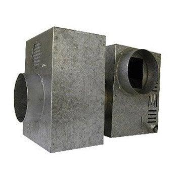 Caisson de protection pour groupe d'air chaud DMO, diamètre 125 mm