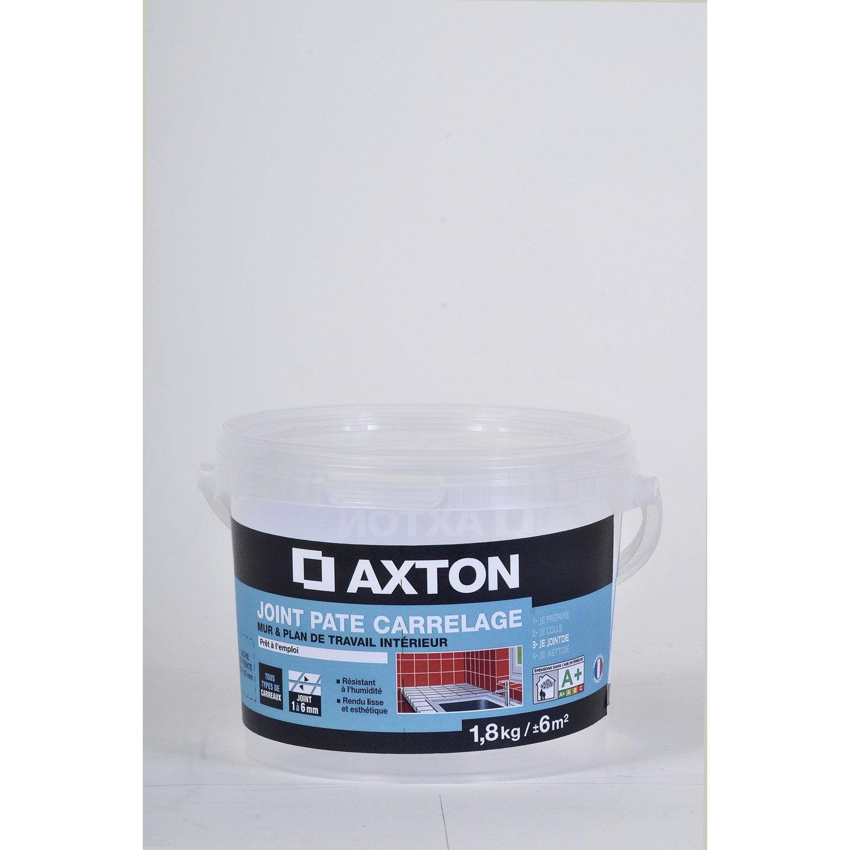 Joint p te tout type de carrelage et mosa que axton blanc for Joint carrelage blanc