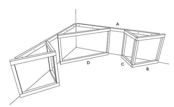 comment cr er un rangement autour du spa leroy merlin. Black Bedroom Furniture Sets. Home Design Ideas