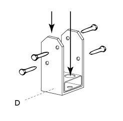 Comment ajouter une pergola une maisonnette leroy merlin - Comment fixer une pergola ...