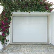 Porte de garage sectionnelle Malte H.200 x l.240 cm