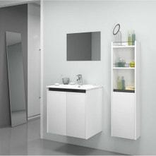 Meuble salle de bains meuble vasque colonne leroy merlin - Salle de bain leroy merlin meuble ...