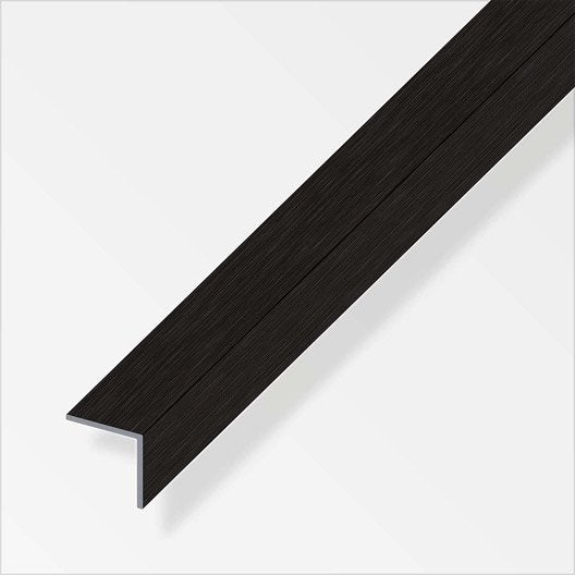 corni re gale aluminium bross l 2 5 m x l 1 cm x h 1 cm. Black Bedroom Furniture Sets. Home Design Ideas