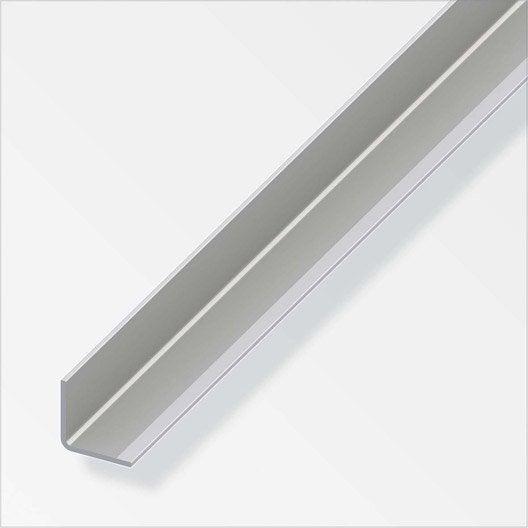 corni re gale acier inoxydable brut l 1 m x l 6 cm x h 6 cm leroy merlin. Black Bedroom Furniture Sets. Home Design Ideas