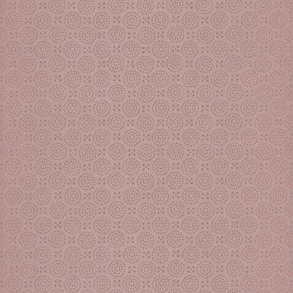 Papier Peint Dots Orange Irise Intisse Trio Leroy Merlin