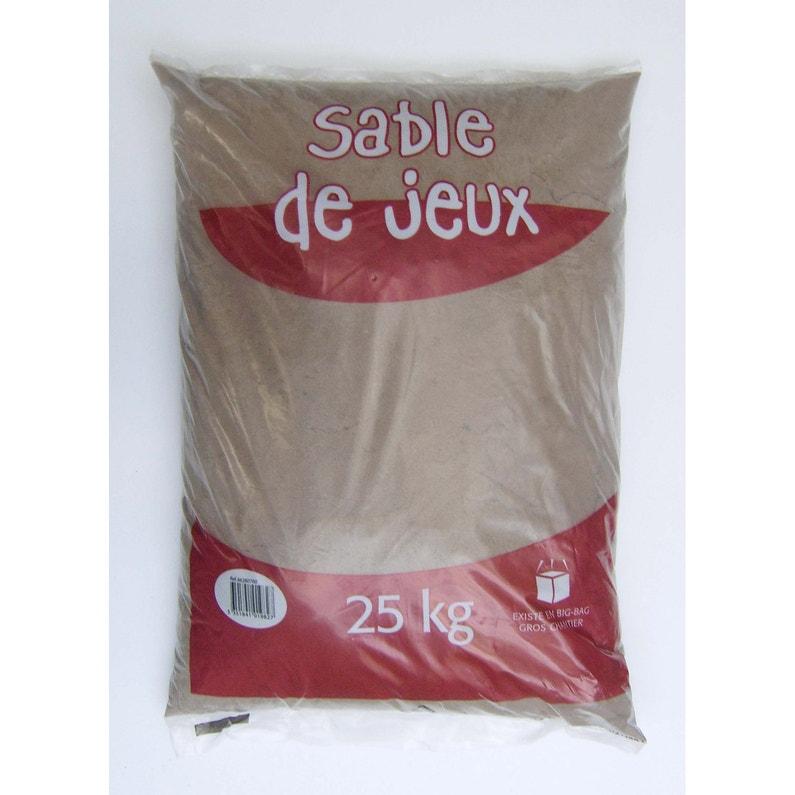 Sable De Jeux Pierre Naturelle Naturel Silice 03mm 25 Kg