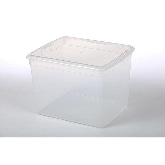 bo te de rangement modular box en plastique l 34 x p 39. Black Bedroom Furniture Sets. Home Design Ideas
