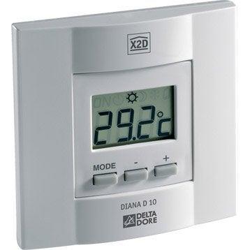 Thermostat manuel filaire DELTA DORE Diana 10