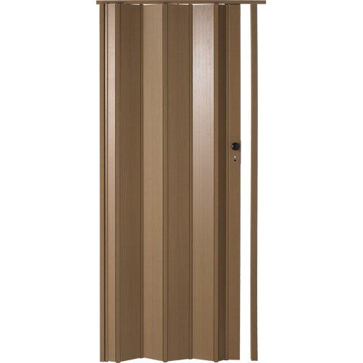 porte accord on ibiza en r sine de synth se noyer 205 x 85 cm p 10 mm leroy merlin. Black Bedroom Furniture Sets. Home Design Ideas
