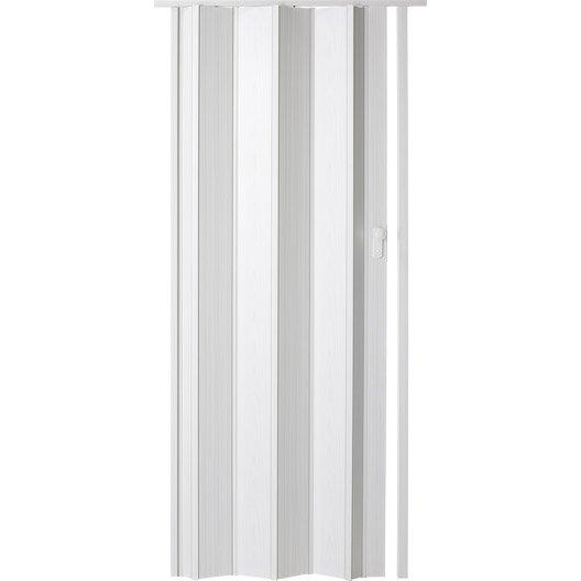 Porte extensible ibiza fr ne blanc 205 x 85 cm pais d for Porte 85 cm