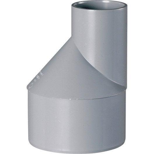 tampon de r duction pvc m le femelle 100 50 mm girpi leroy merlin. Black Bedroom Furniture Sets. Home Design Ideas